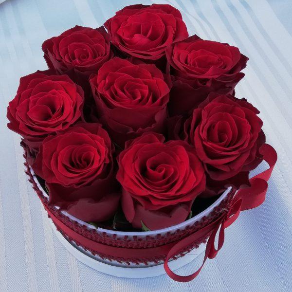 Rózsa doboz Balassagyarmat